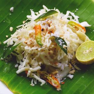 Quick Indian Cabbage Salad.