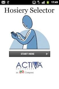 Activa Hosiery Selector - screenshot thumbnail