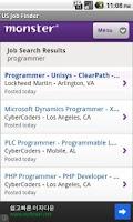 Screenshot of USA Job Finder