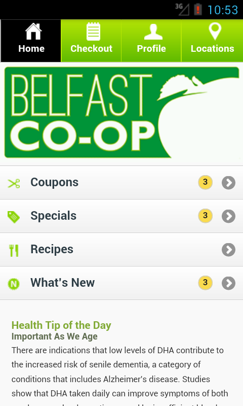 Belfast Co-op - screenshot