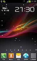 Screenshot of Z Bubble Live Wallpaper