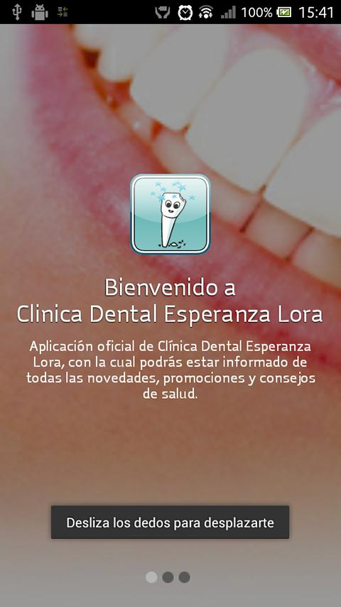 Clínica Dental Esperanza Lora - screenshot