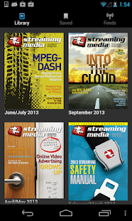 Streaming Media Magazine- screenshot thumbnail