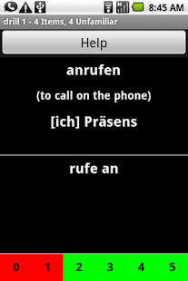 German Verb Trainer - screenshot thumbnail