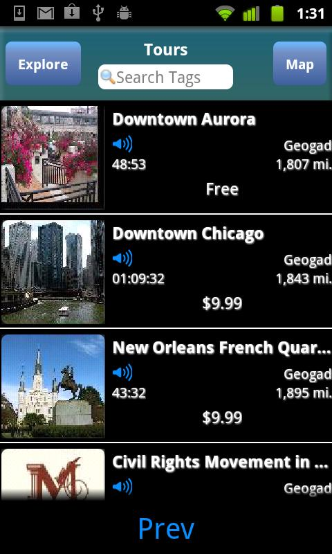 Geogad Tours- screenshot