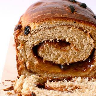 Cinnamon Raisin Swirl Bread.