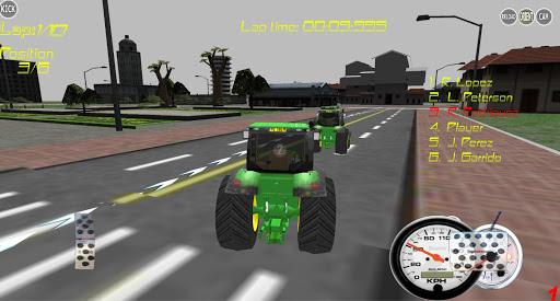 Tractor Farm Racing 3D