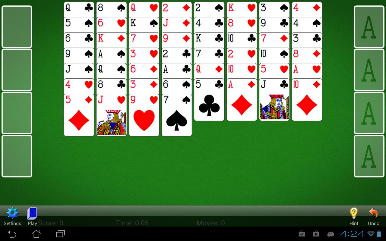 FreeCell Solitaire screenshot #6