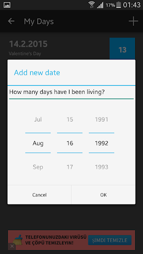 How Many Days