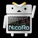 NicoRo Tri-α logo