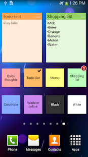 ColorNote Notepad Notes - screenshot thumbnail