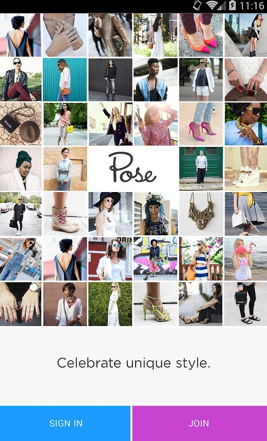 Pose - screenshot