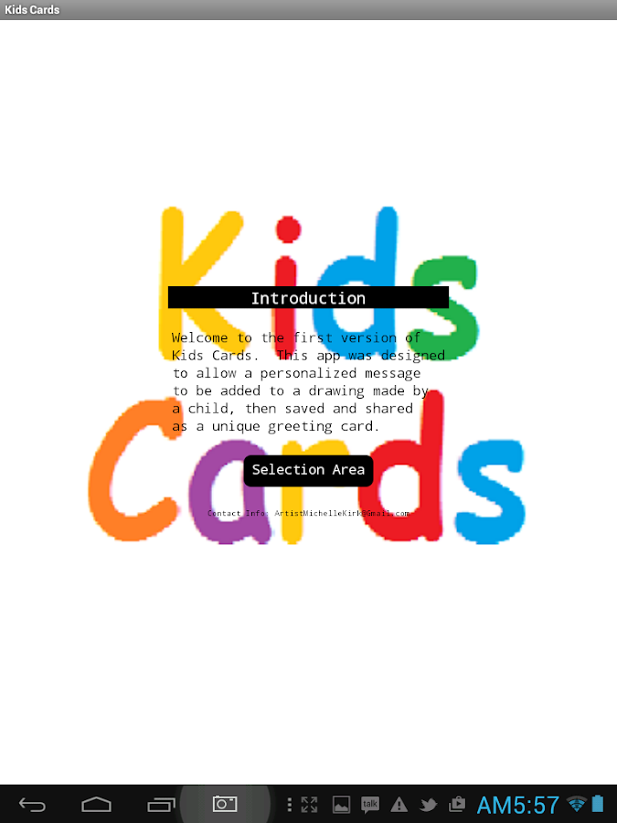 Kids Cards- screenshot
