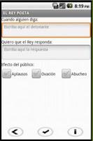Screenshot of El Rey Poeta GRATIS