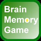 Brain Memory Game