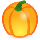 Fondant Pumpkin Cake Creation icon