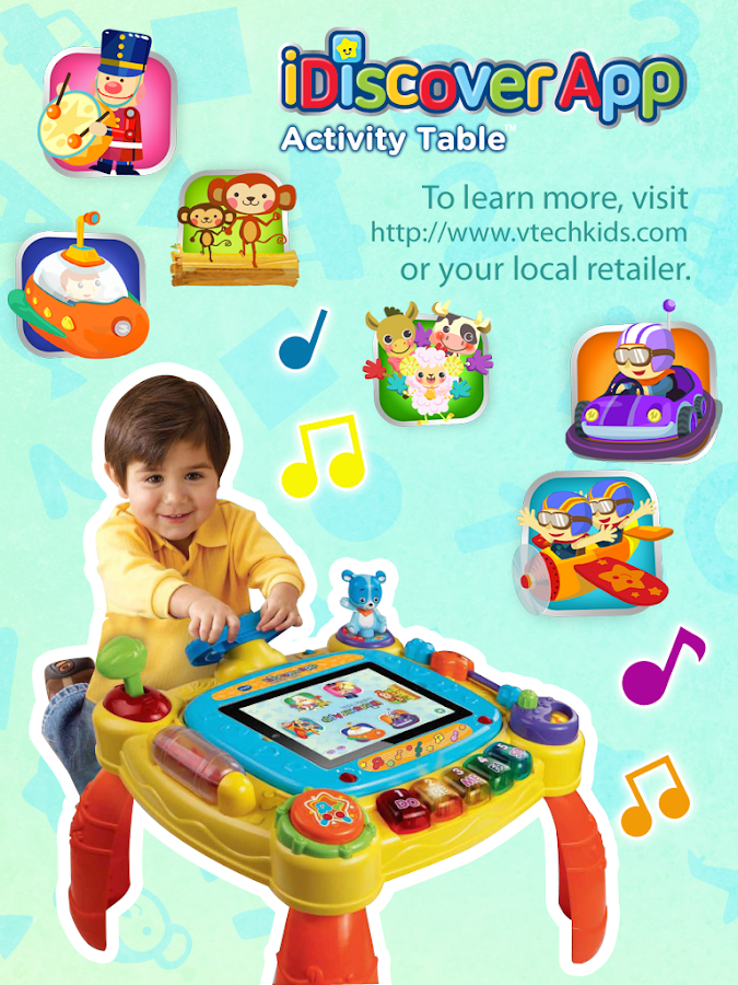 iDiscover Activity Table App- screenshot