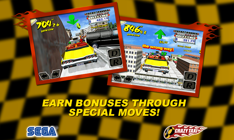 Crazy Taxi - screenshot