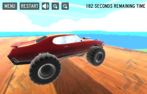 瘋狂的怪物賽車遊戲3D