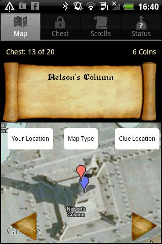 Huntzz - Treasure Hunts - screenshot
