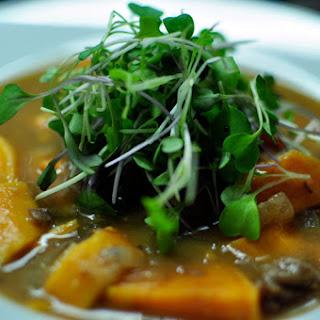 Beef Braised in Rooibos Tea with Sweet Potatoes Recipe