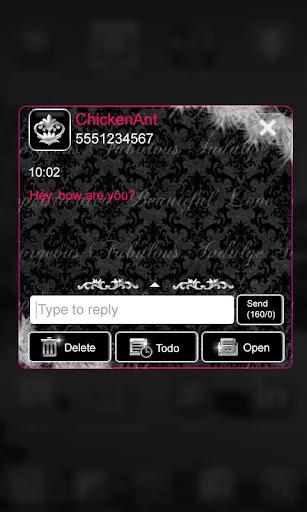 免費下載個人化APP|Damask & Velvet Theme SMS app開箱文|APP開箱王