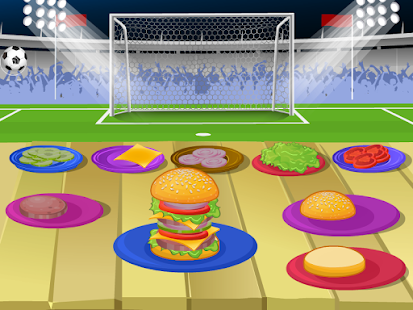 Delicious Burger Cooking Games- screenshot thumbnail