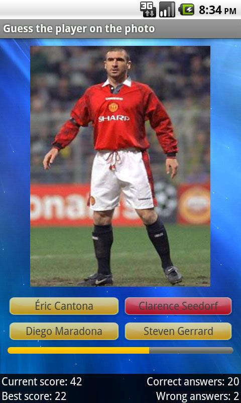 Football Players Quiz - screenshot
