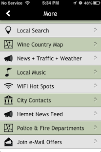 CityByApp® Hemet! - screenshot thumbnail