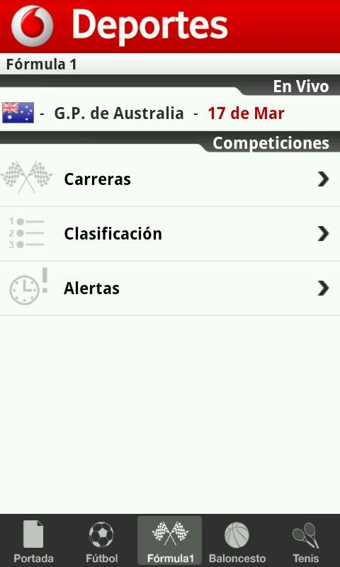 Deportes - screenshot