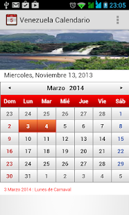 Venezuela Calendario 2014 - screenshot thumbnail