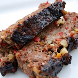 Turkey Vegetable Meatloaf with Balsamic Glaze.