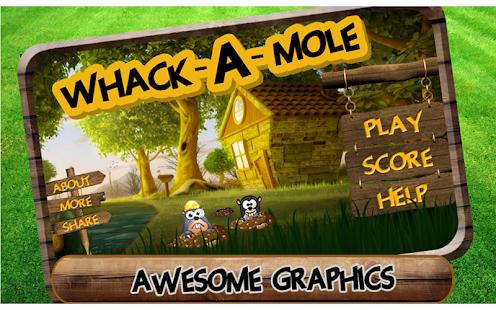 Whack A Mole : Hit Me
