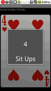 Workout Card Game - screenshot thumbnail