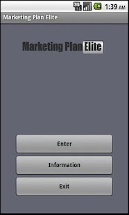 Marketing Plan App - screenshot thumbnail