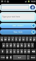 Screenshot of SMS Scheduler
