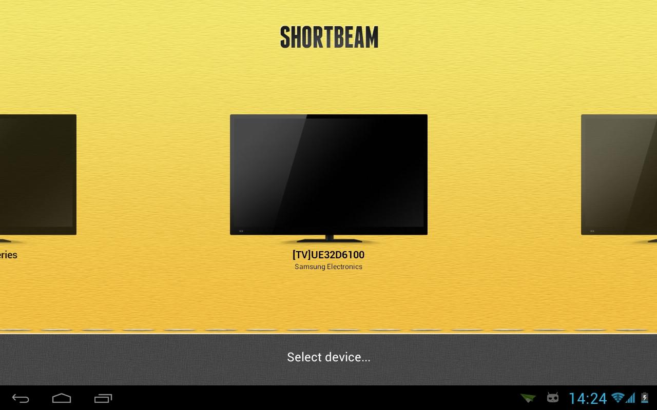 Shortbeam TV Media Player - screenshot