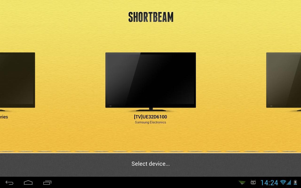 Shortbeam™ TV Media Player - screenshot