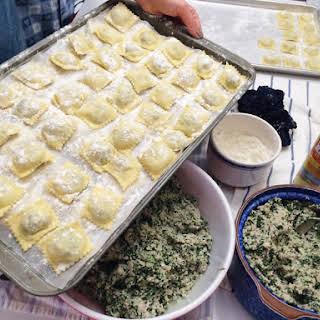 Nonna's Homemade Ravioli.