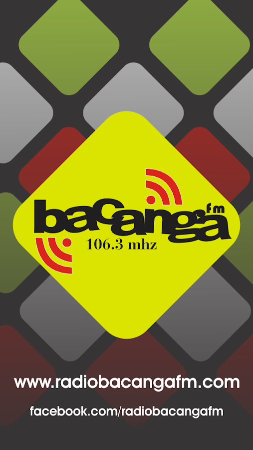 Bacanga FM 106.3 Mhz- screenshot