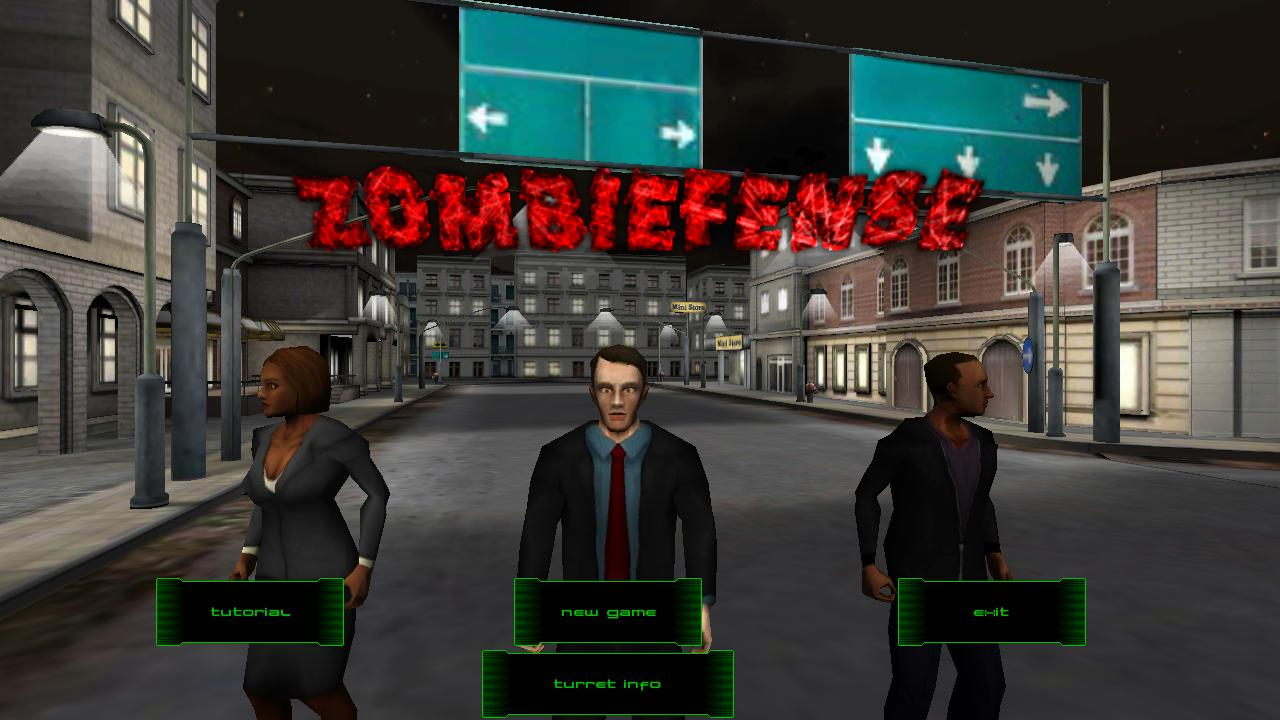 Zombiefense - screenshot
