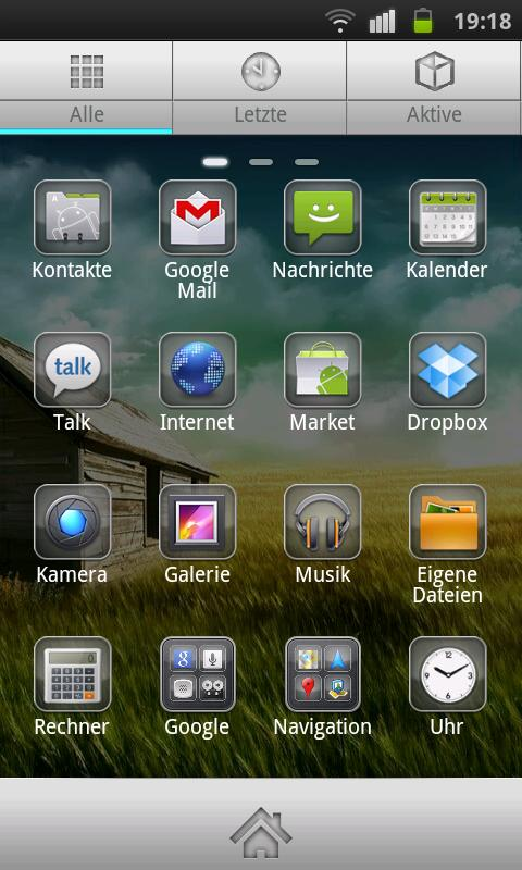 Plate Theme 4 GO Launcher EX- screenshot