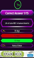 Screenshot of Biology Quiz