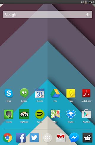 Chrooma Live Wallpaper - imagem de tela