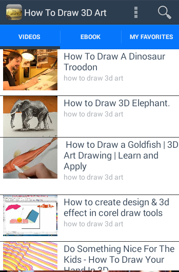 How to Draw 3D Art- screenshot
