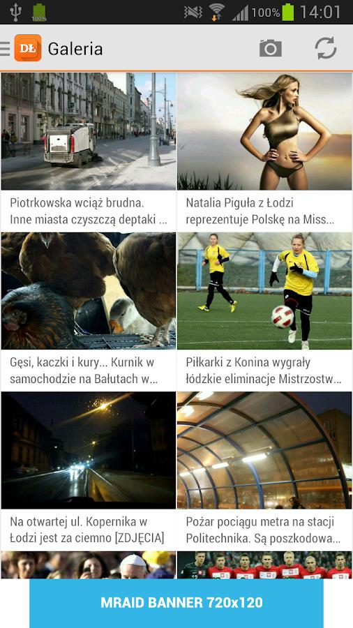 Dziennik Łódzki - screenshot