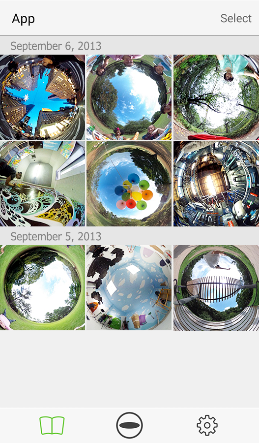RICOH THETA - screenshot