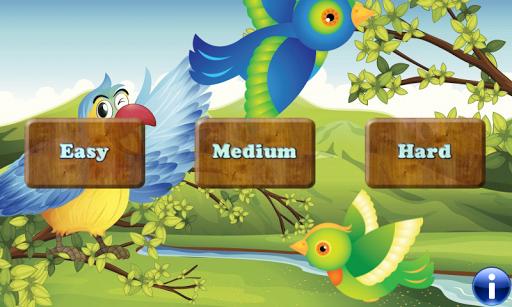 Birds 幼児や子供のための記憶ゲーム