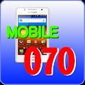 모바일070-인터넷전화,전화어플,와이파이어플,070어플 icon