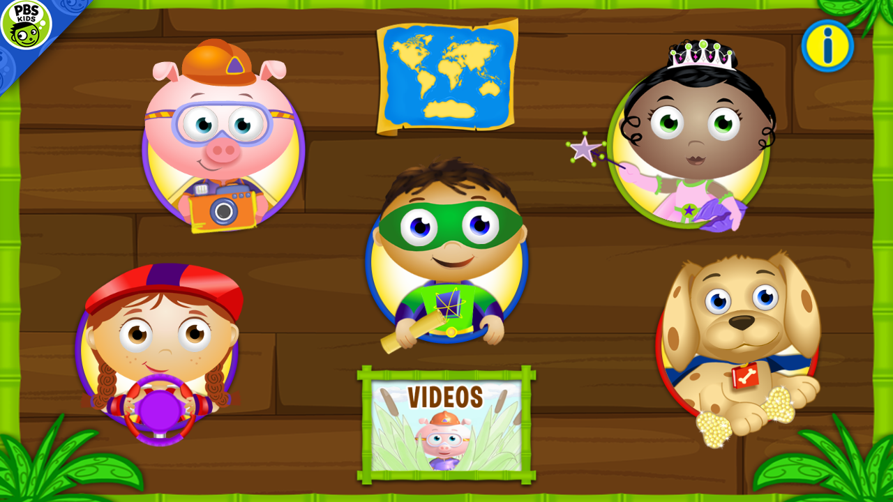 SUPER WHY ABC Adventures- screenshot